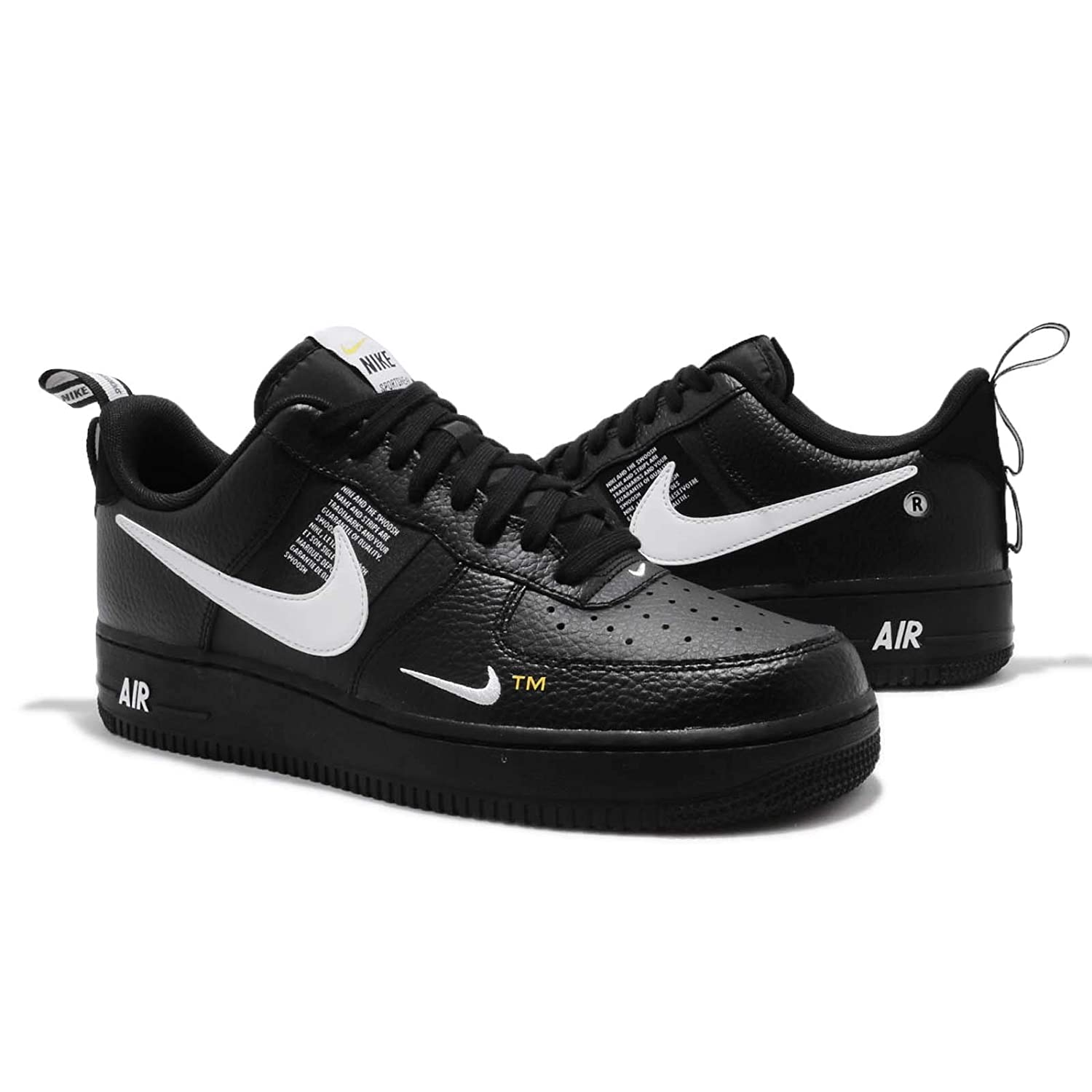 info for d17a7 e6b3f Clothing, Shoes   Accessories Men s Shoes Nike Air Force 1 07 LV8 Utility  Black White Mens AF1 Fashion Sneakers AJ7747-001
