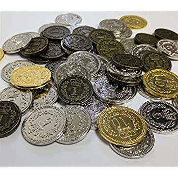 Amazon com: Viticulture Metal Coins: Toys & Games