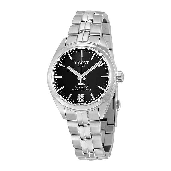 Tissot PR 100 Reloj de mujer automático 33mm T101.208.11.051.00: Amazon.es: Relojes