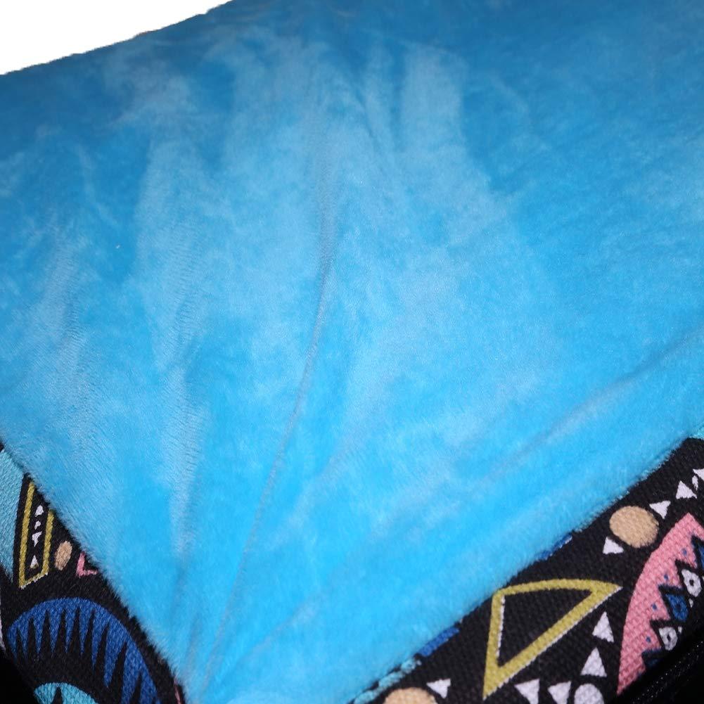 Wrqq Nuovo Animale Domestico Domestico Domestico Grande Kennel Cat Lettiera Pieghevole Staccabile Divano Inverno oroen Retriever Forniture Mat Adatto per Cani Ripieni Accoglienti Corpi Caldi,blu,S 60  40  13cm 2cad44