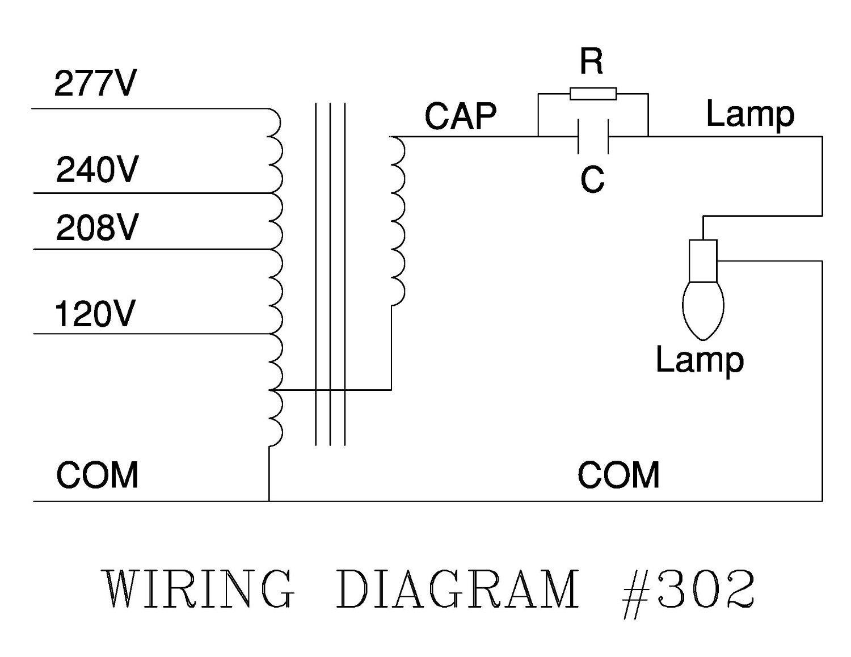 Robertson 3p10065 Individual Mhid Cwa 250 Watt M58 Metal Halide Lamp Wiring Diagram