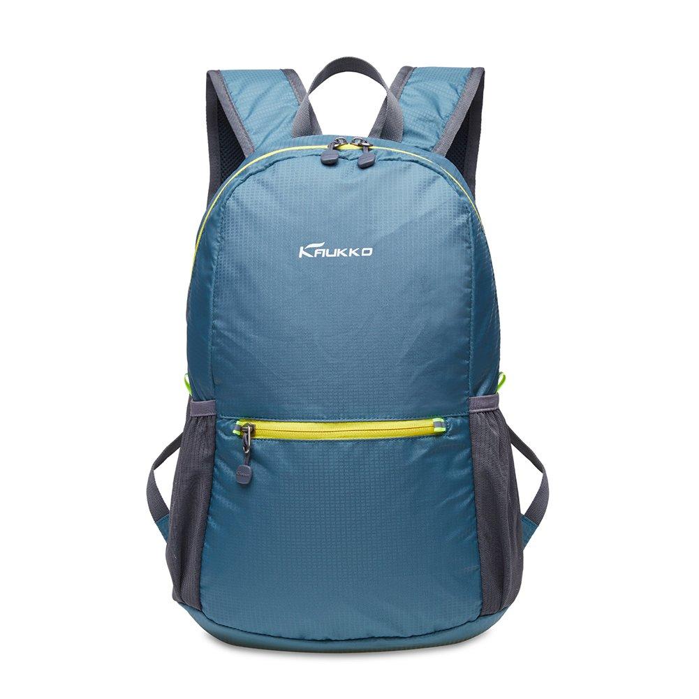 KAUKKO Laptop Outdoor Backpack, Travel Hiking& Camping Rucksack Pack, Casual Large College School Daypack, Shoulder Book Bags Back Fits 15'' Laptop & Tablets (01GREEN)