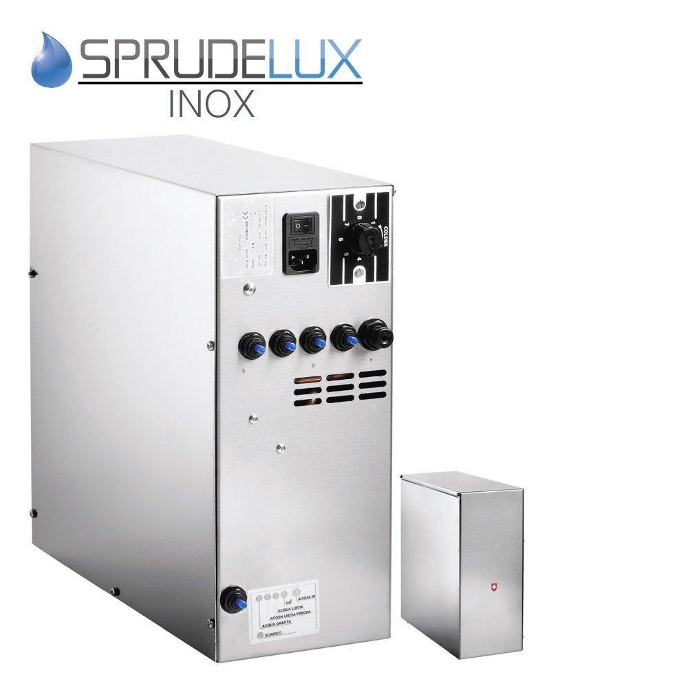 Bajo Mesa de agua potable Sistema sprude Lux inox sin filtro ...