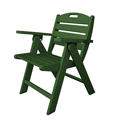 Magnificent Polywood Outdoor Furniture Nautical Lowback Chair Green Recycled Plastic Materials Pdpeps Interior Chair Design Pdpepsorg