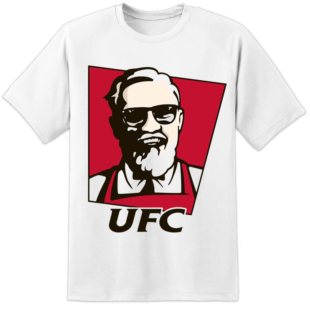 3399fbd9e Mens Connor McGregor UFC Funny KFC T Shirt MMA Gym Wear Fitness BJJ ...