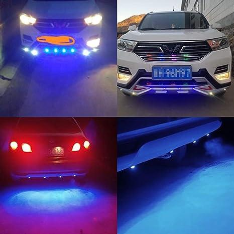 Teguangmei 4 en 1 Voiture Moto LED Eagle Eye durgence Stroboscopique Lumi/ères davertissement DRL T/él/écommande Sans Fil Flash Lights 12V Ambre