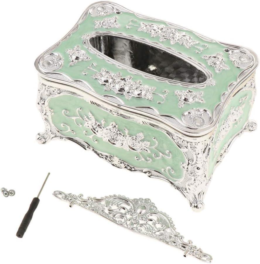 Tubayia Acryl Tissue Box Halter Taschentuchbox Taschentuchspender Servietten Aufbewahrungsbox f/ür Haus B/üro Hotel Golden Rot