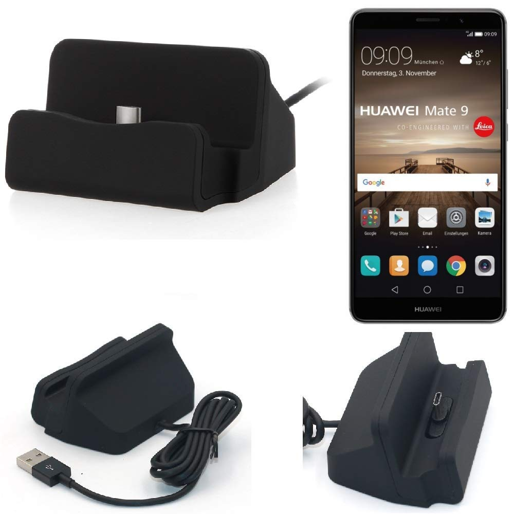 K-S-Trade Dock USB para el Huawei Mate 9, Negro | estación ...