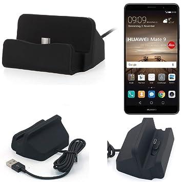 K-S-Trade Dock USB para el Huawei Mate 9 (Dual-SIM), Negro ...