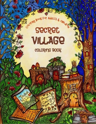 Village Coloring Book - 7