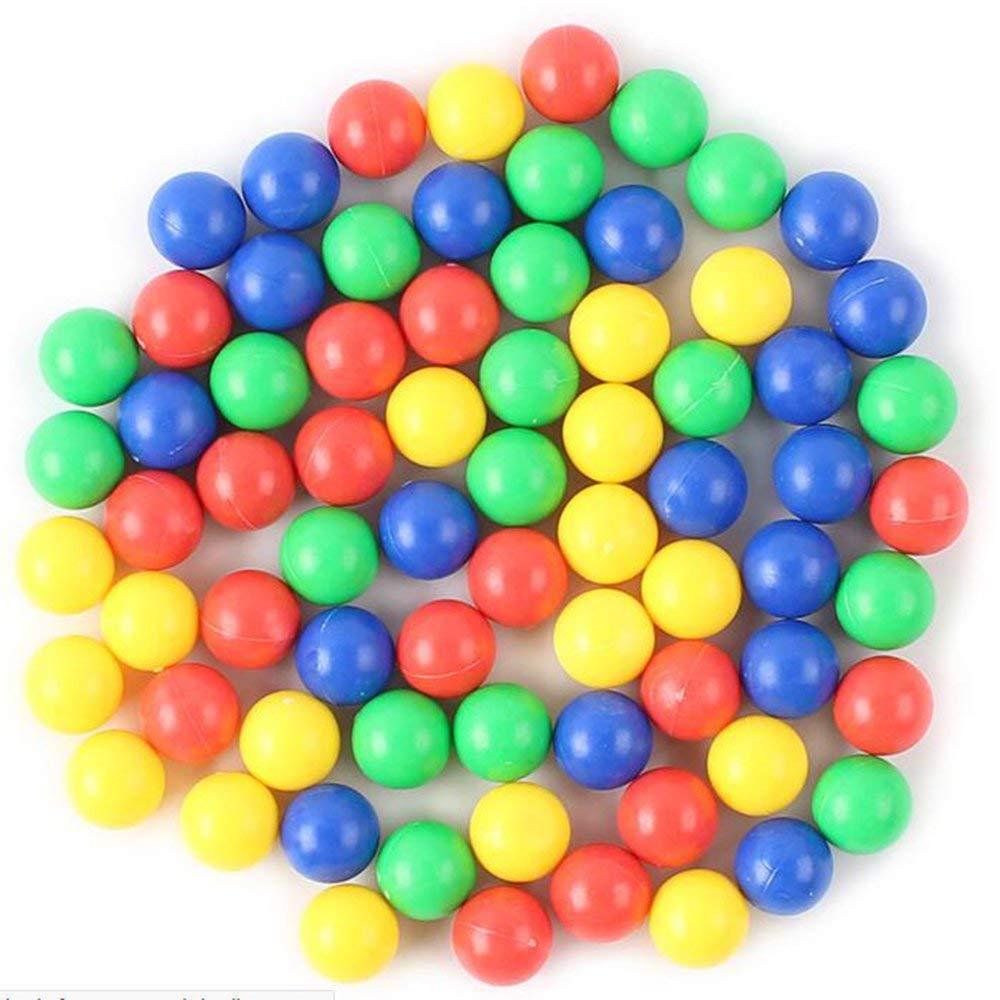 Erduo 60 Frösche verschluckte Perlen zu Essen Bohnen Brettspiel Perlen COOLPLAY Interaktion Spielzeug Fütterung Frosch Swallow Beads Tischspiel - Multi-Color
