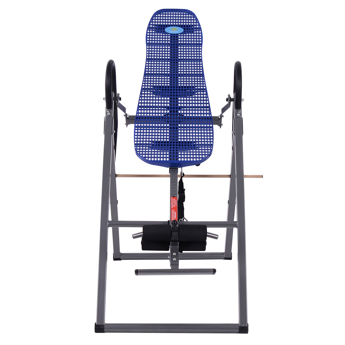 New Foldable ABS Inversion Table Gravity Therapy Back Pain Fitness Reflexology Blue by MTN Gearsmith (Image #2)
