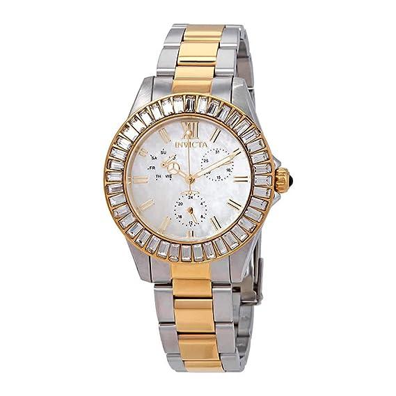 Invicta Angel Reloj de Mujer Cuarzo Suizo Correa y Caja de Acero 28451: Amazon.es: Relojes