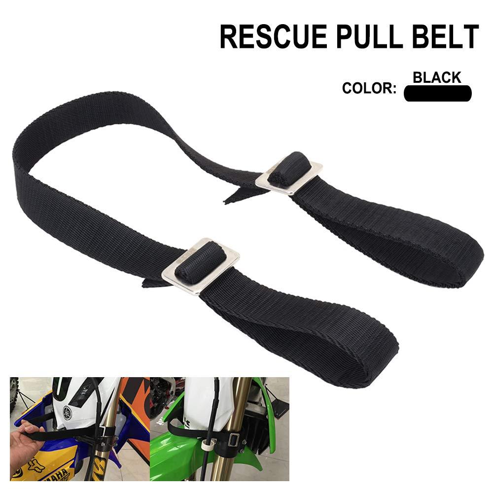AnXin Rescue Traction Strap Pull Sling Belt Safety Accessories Universal For Most Of Motorcycle Dirt Bike Pit Enduro HONDA YAMAHA KAWASAKI SUZUKI KTM