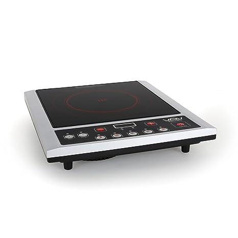VOV VIC 20A4 Piano Di Cottura Portatile Ad Induzione (2000 Watt, 26 X