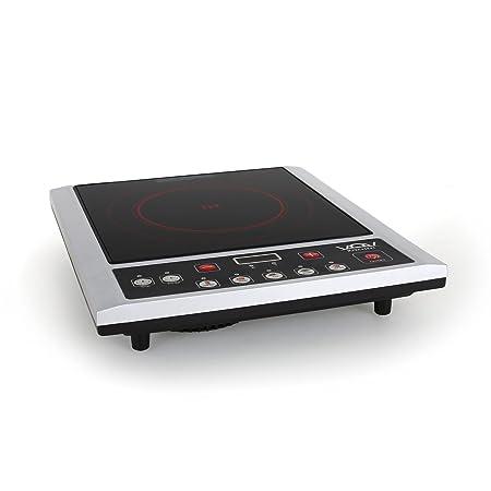 Colore: Nero 2100/W Piastra elettrica a induzione JATA Vin145