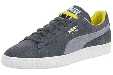 spottbillig Brauch günstig kaufen Puma Suede Classic RTB Leather Sneaker Men Trainers Grey 356850 07