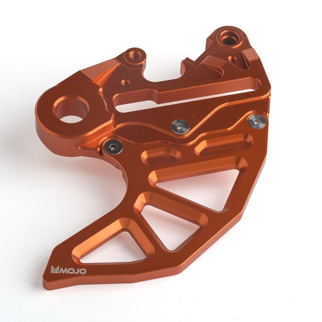 Mojo MOJO-KTM-RDG Anodized Orange Rear CNC Disc Guard
