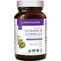 New Chapter Vitamin B Complex, Fermented Vitamin B Complex, One Daily with Whole-Food...