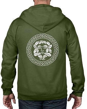 : Tribal camisetas para hombre Hombre Verde Full
