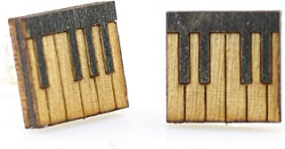 product image for Piano Key Stud Earrings