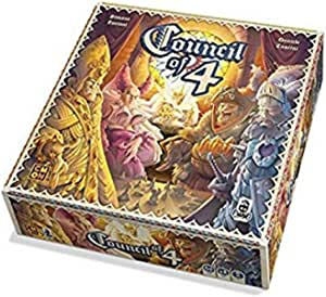 CoolMiniOrNot Current Edition Council of 4 Board Game