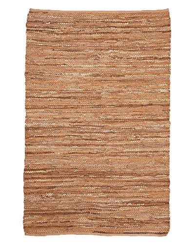NaturalAreaRugs Handmade Reversible Adore Leather (6