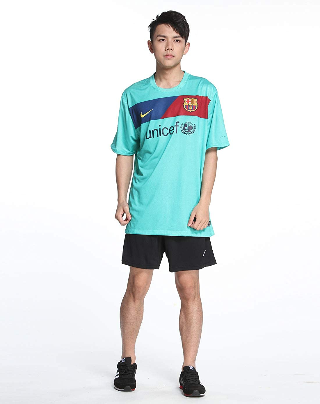 amazon com nike barcelona away 10 11 soccer jersey clothing nike barcelona away 10 11 soccer jersey