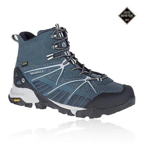 cd32bc20f74 Merrell Capra Venture Mid Gore-TEX Surround Women's Walking Boots - SS18  Blue