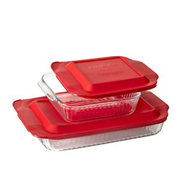 Pyrex®4-pc Sculpted Bakeware Value Pack