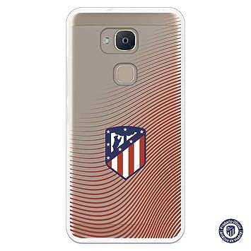 Carcasa Oficial Atlético de Madrid Ondea Rojo Clear SS18-19 ...
