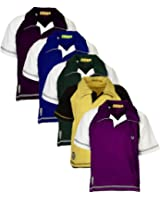 Goodway Pack of 5 Boys Polo Tshirt