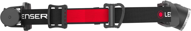 Home Work Ledlenser H8R Lightweight Multipurpose Rechargeable Headlamp Hands-Free Lighting Everyday Black High Power LED 600 Lumens