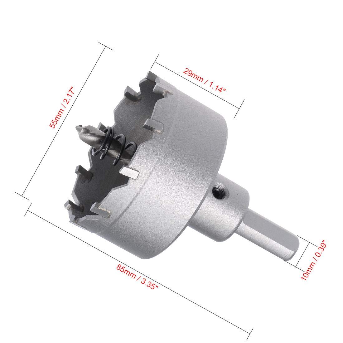 48mm sourcing map Carbure Trou Scie Coupeur Foret pour Acier Inox