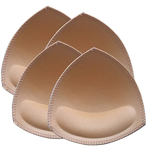 97d0e6aab10 Nimiah Removable Sports Bra Pads Women s Push Up Bra Pads Inserts 2 Pairs  for A B C Cups