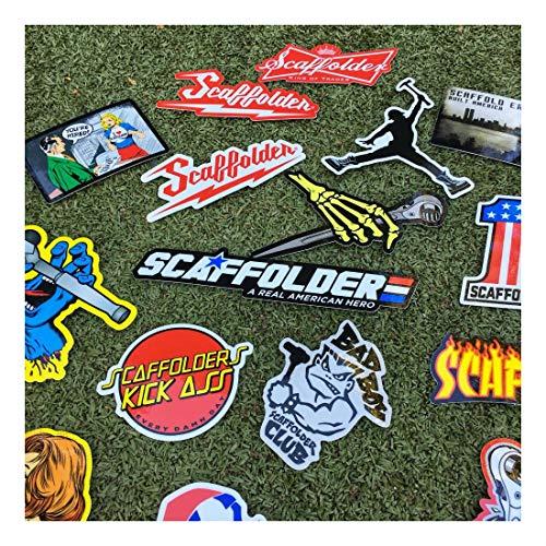(40+) Scaffolder Hard Hat Stickers Hardhat Sticker & Decals, Scaffold Carpenter by Unknown (Image #4)
