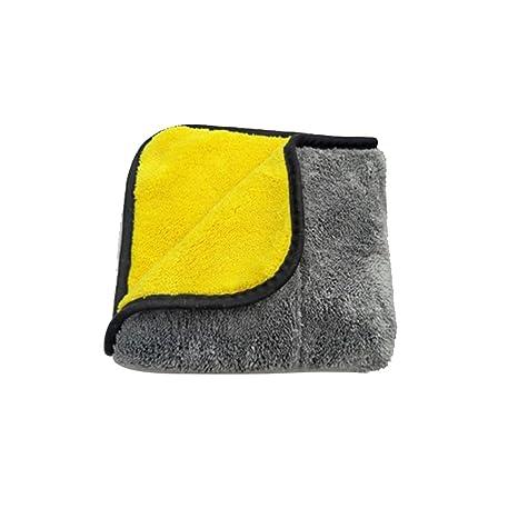 AOLVO - Juego de toallas de microfibra ultra gruesas para limpiar el coche, para pulir