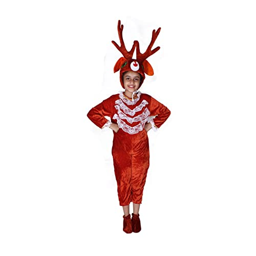 deer party mascot animal costumes for christmas5 7 years - Best Christmas Costumes