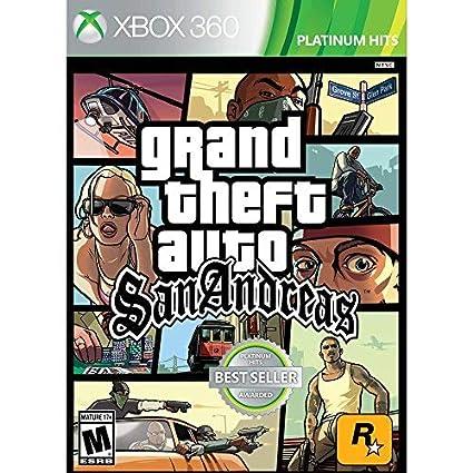 Amazon com: Rockstar, Grand Theft Auto San Andreas (Xbox 360) Video