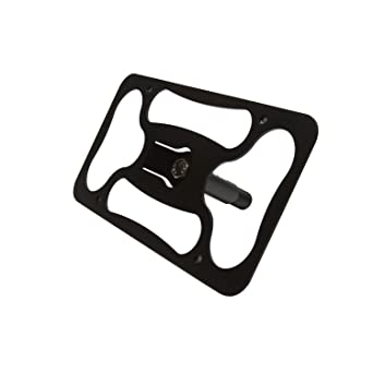 Made of Stainless Steel /& Aluminum E46 No Drilling Installs in Seconds | 1999-2006 CravenSpeed The Platypus License Plate Mount for BMW 3 Series Made in USA