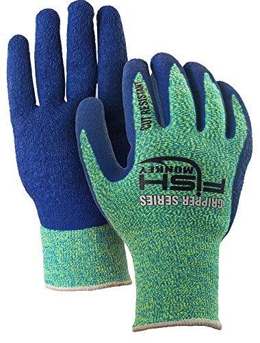 Fish monkey gripper filet glove neon royal blue l xl for Fish monkey gloves