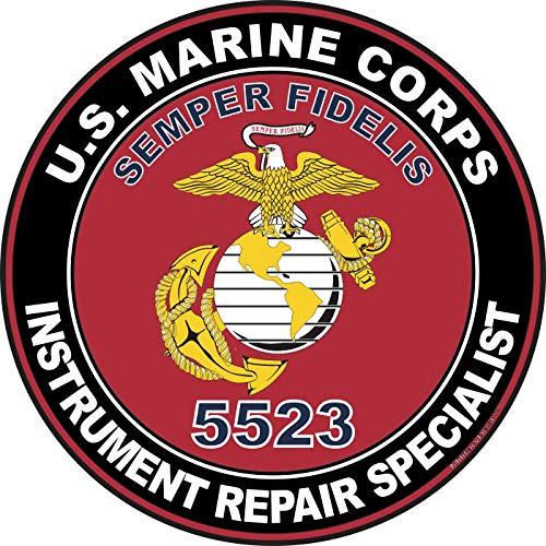 MilitaryBest U.S.M.C. MOS 5523 Instrument Repair Specialist Decal 11.75