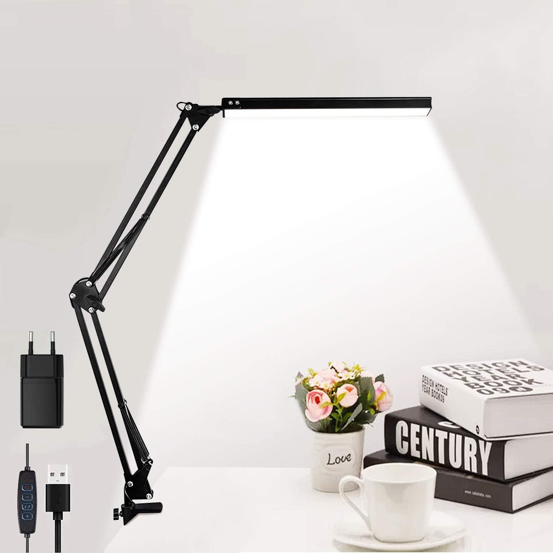 Schreibtischlampe elegant Design LED Tischlampe