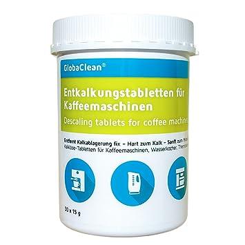 30 pastillas descalcificadoras para cafeteras automáticas: Amazon.es: Hogar