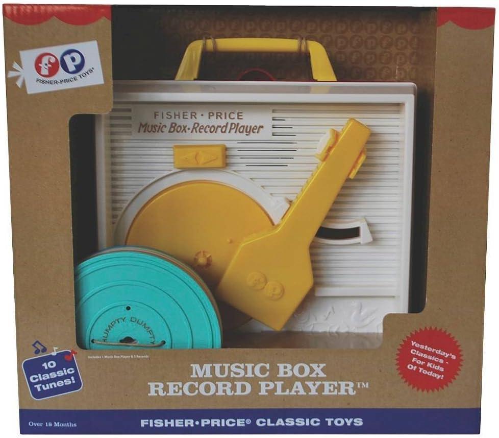 Amazon.com: Fisher-Price Classic Caja de música Record ...