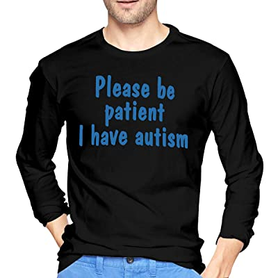 Please Be Patient I Have Autism Mens Long Sleeve T-Shirt