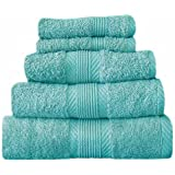 Catherine Lansfield Home 100% Cotton Bath Sheet, Aqua
