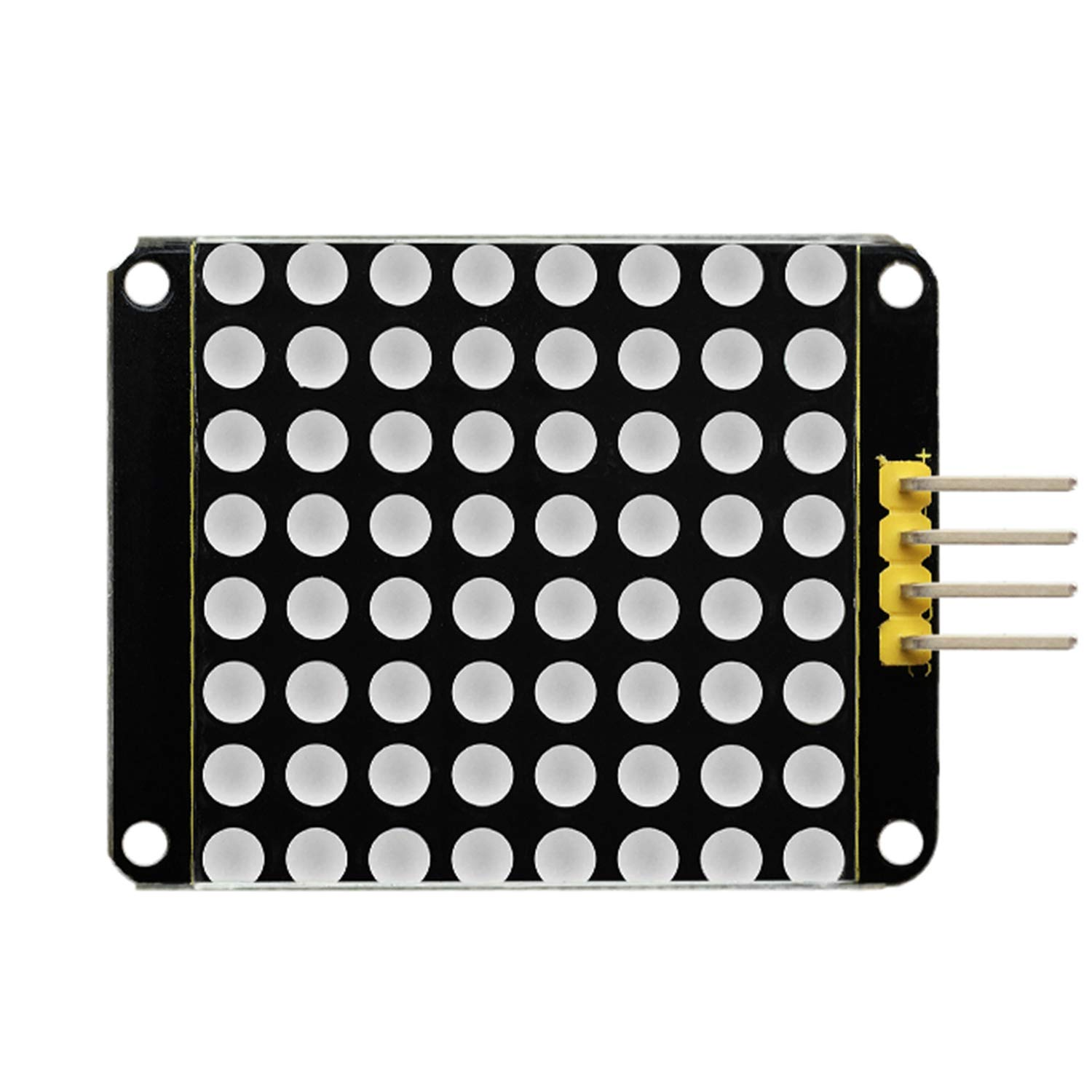 keyestudio HT16K33 Dot Matrix Module Red Color 8x8 LED Matrix Display Module for Arduino and Raspberry Pi (3PCS) keys