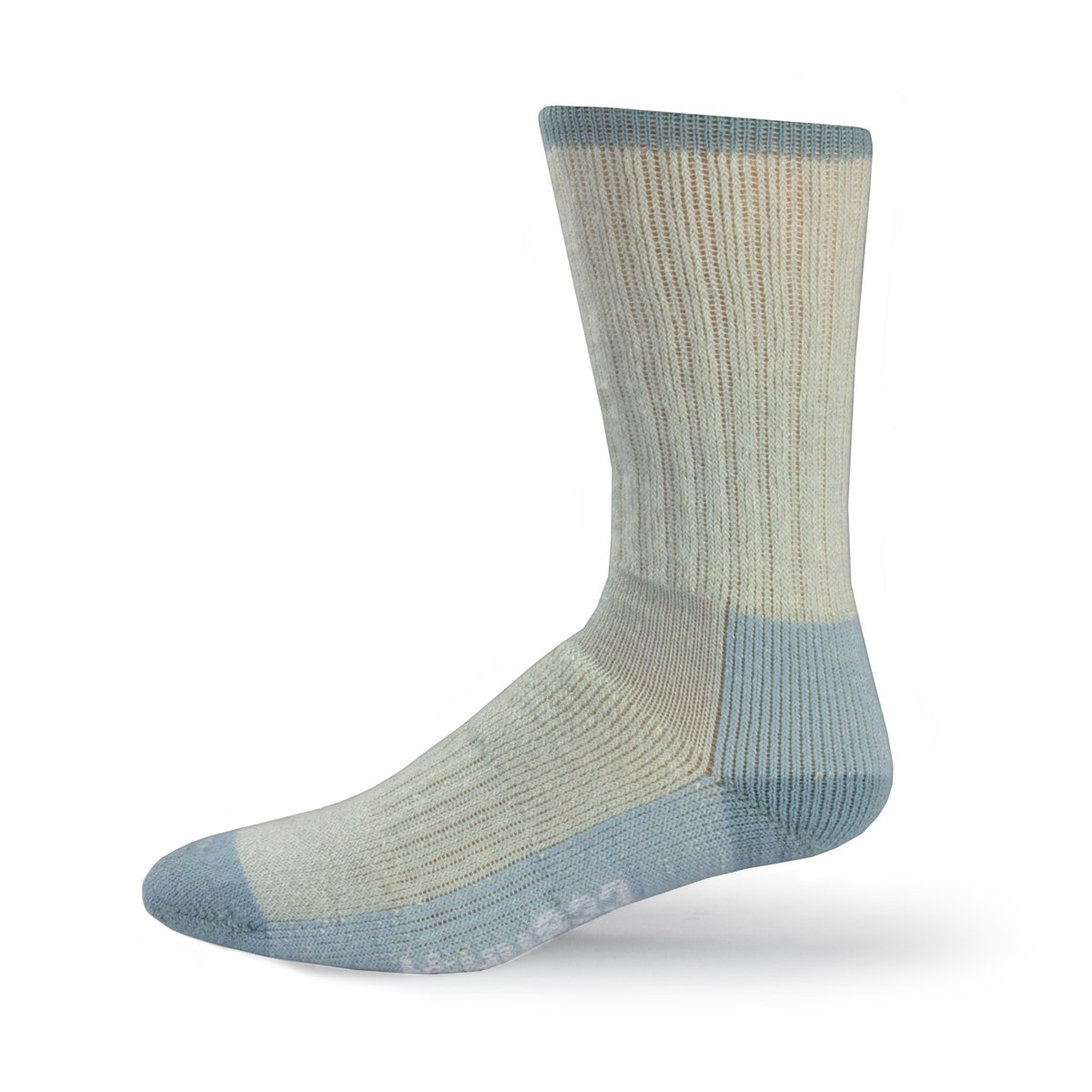 Minus33 Merino Wool 903 Day Hiker Sock Powder Blue Large by Minus33 Merino Wool