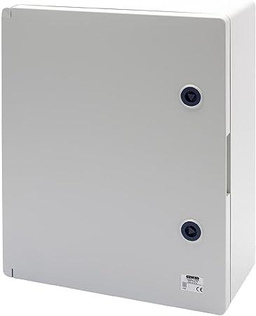 Gewiss GW44810 Metal caja eléctrica - Caja para cuadro eléctrico (316 mm, 160 mm, 396 mm): Amazon.es: Bricolaje y herramientas